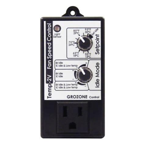 day night fan speed controller grozone control tv2 multimode fan speed control little