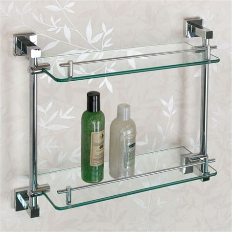 faucets kitchen sink albury tempered glass shelf two shelves bathroom