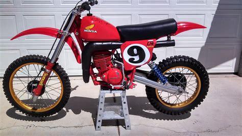 Smith Honda by 1978 Honda Cr250 Elsinore Marty Smith Replica Signed