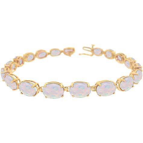 opal  gold bracelet  bracelets