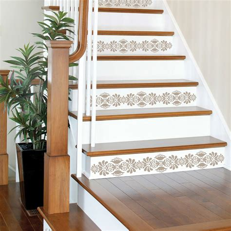 stair risers wall pops kolkata stripe decals