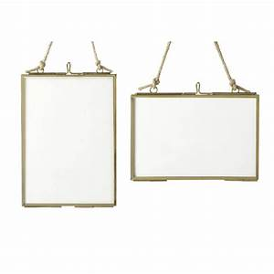 brass hanging picture frame by all things brighton ...