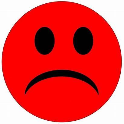 Sad Face Clipart Drawing Smiley Clip Unhappy