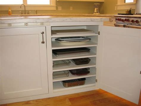 kitchen cabinets shelves ideas kitchen storage ideas add additional shelves in lower cabinets to store flat items