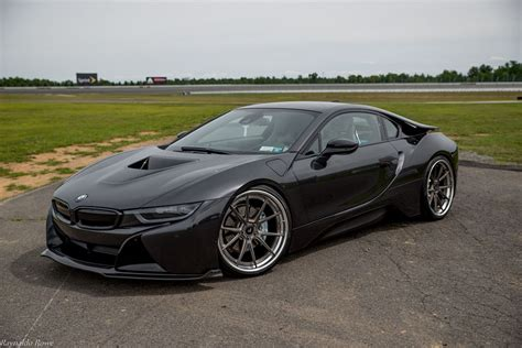 Vorsteiner Shows Off Stealthy All Black BMW i8   carscoops.com