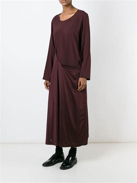 robe de chambre asiatique comme des garçons 39 robe de chambre 39 dress in lyst
