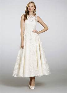 ankle length floral wedding dress sang maestro With ankle length wedding dress