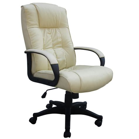 cow split leather high back office chair pc computer