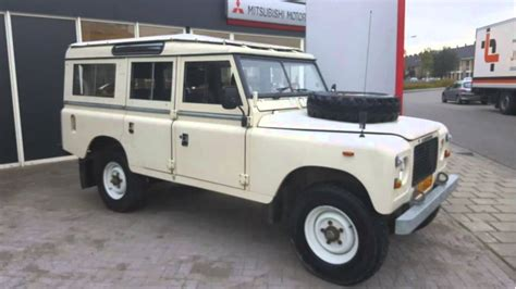 land rover defender series iii 109 quot stage one v8 5 deurs