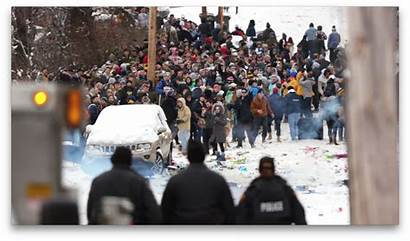 Riot Crowd Police Wvu Campus Near Conditions