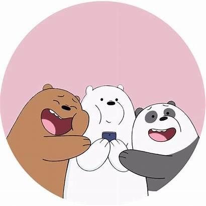 Bears Bare Bear Hug Panda Ice Cartoon
