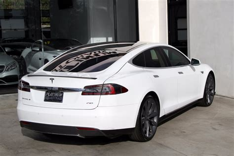 2013 Tesla Model S Performance P85 **msrp $119,620** Stock