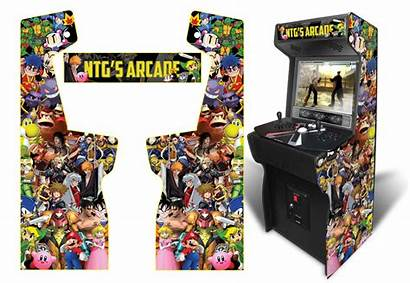 Arcade Graphics Custom Customer Submitted Inspired Xtension