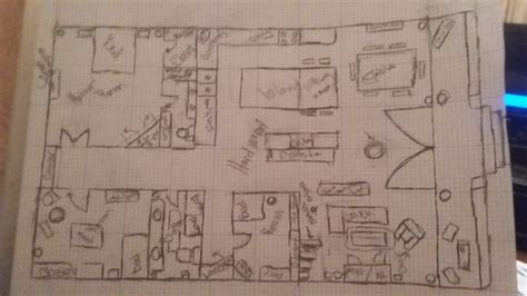 draw blueprints   house  steps  pictures