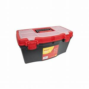 Professional 19 U0026quot  Tool Box Handle Tray Diy Storage Plastic