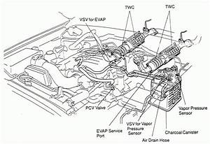 1989 Toyota Engine Schematic Diagrams
