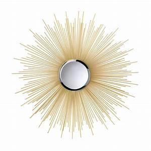 Golden Rays Sunburst Mirror Wholesale at Koehler Home Decor