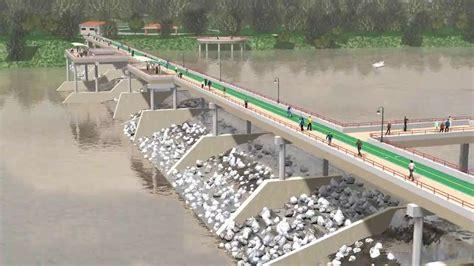 Low Water Dam  Pedestrian Bridge Youtube