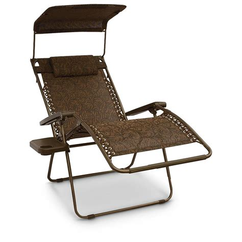 zero gravity chair with cup holder canada bliss gravity free canopy recliner 578463 chairs at