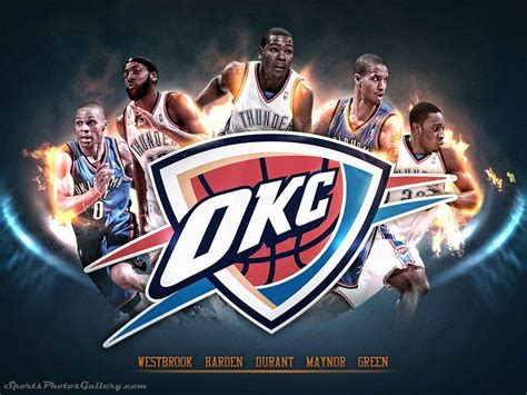 Oklahoma City Thunder 2018 Wallpapers - Wallpaper Cave