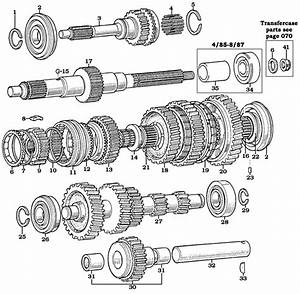 Land Cruiser 4 Speed Transmission Shafts  U0026 Gears