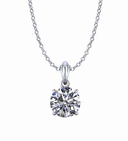 Diamond Solitaire Necklaces Necklace Designs Halo Jewelry