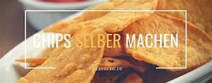 Brotbackautomat Ohne Loch : chips selber machen leckere knabberei einfach und schnell vielk che ~ Frokenaadalensverden.com Haus und Dekorationen