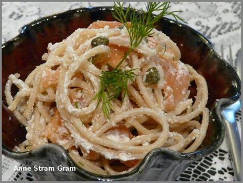 spaghetti au saumon fum 233 et 224 la ricotta stram gram