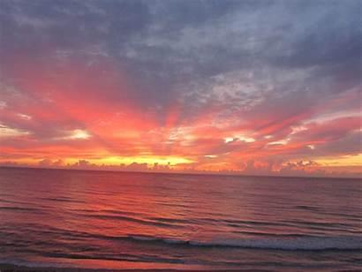 Sunrise Ocean Beach Sun Sunrises Landscape Clouds