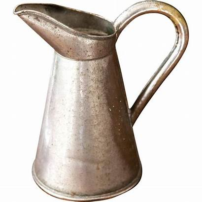 French Rustic Country Brass Medical Paris Pitcher