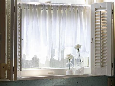 stenciled drop cloth 10 diy ways to spruce up plain window treatments window