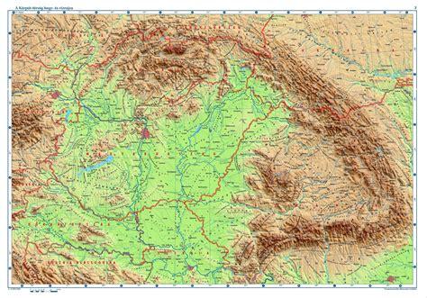 A főtanfelügyelő szerint csak azokat a területeket rajzolták le a diákok, ahol jelentős számú magyar közösségek élnek. OS Topographic map of Hungary and surrounding areas 3000×2097 : MapPorn