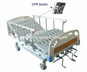 China Manual 4-crank Hospital Bed  Rmb016