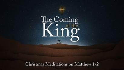 King Coming Sermon Matthew Questions Mark Pastor