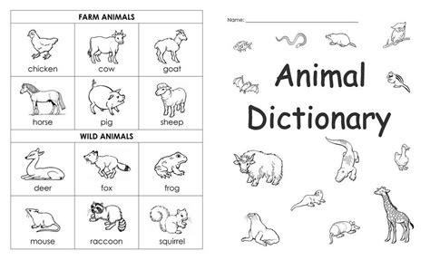 14 Best Images Of Pet Animals Worksheets For Kids