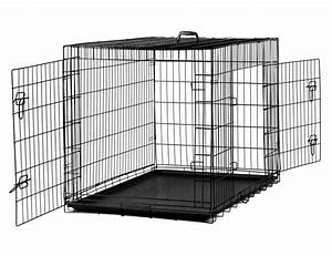 paws pals 42quot xl dog crate double door folding metal With 42 dog crate with divider