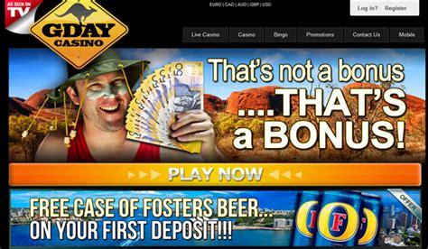 Gday Casino Review, Ratings & Casino Bonuses 2016