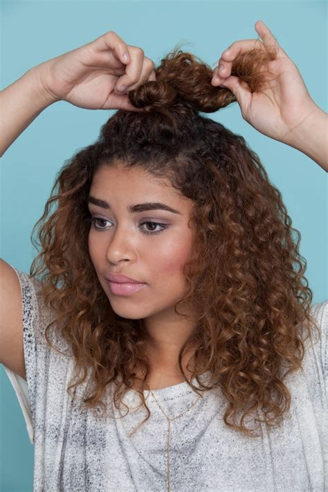 3 easy hairstyles for curly hair for back to school