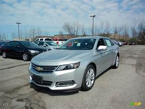 2017 Silver Ice Metallic Chevrolet Impala LT #119883900 ...