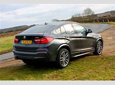 BMW X4 xDrive30d M Sport 5d Road Test Parkers