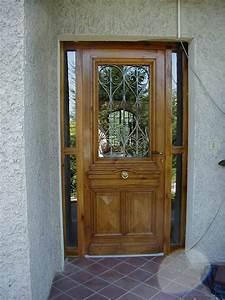 portes anciennes installees 2 wwwportesanciennesdefrancefr With porte d entrée alu avec salle de bain tout equipee
