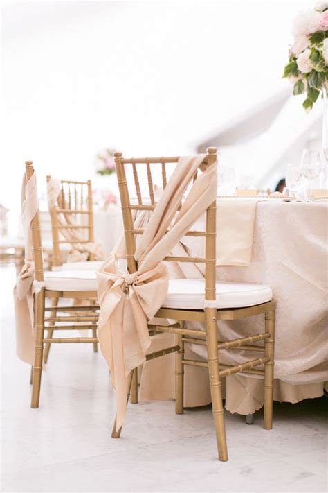 25 best ideas about wedding chair bows on pinterest