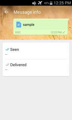 steps any type of document on whatsapp doc txt