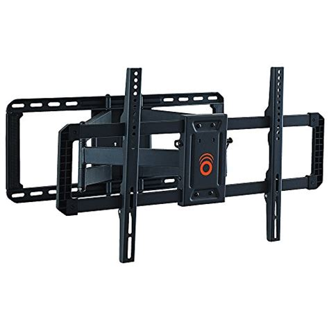best wall mount tv bracket echogear full motion articulating tv wall mount bracket for 42 quot 80 quot tvs easy to install on 16