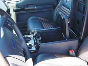 Ford F250 Super Duty Floor Console Vault  2008