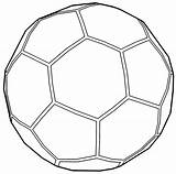 Soccer Ball Outline Coloring Pages Sports Cool Wecoloringpage Printable Sheets Santa Pokemon Star Read Barbie Easter sketch template