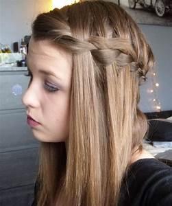 Coiffure Tresse Facile Cheveux Mi Long : coiffure cheveux long natte ~ Melissatoandfro.com Idées de Décoration
