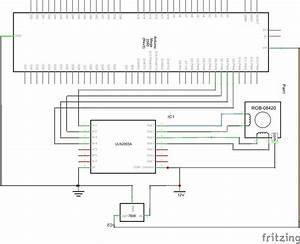 Schematic Diagram Of Arduino Mega With Uln2003a And Stepper Motor