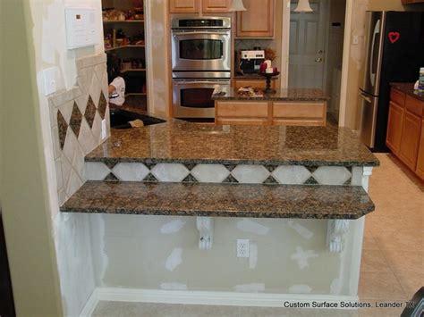 kitchen backsplash extension add  granite counters