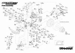 35 Traxxas Slash 4x4 Ultimate Parts Diagram